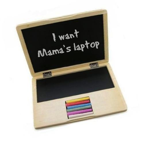mamas laptop